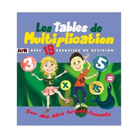 Les tables de multiplication par Muriel Louveau